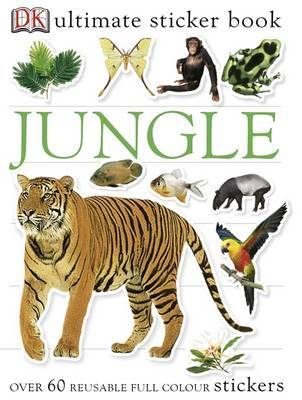 Jungle Ultimate Sticker Book by Mary Holman