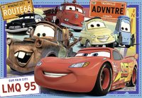 Ravensburger : Disney Two Cars Puzzle 2x24pc
