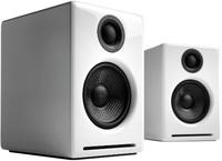 Audioengine: 2+ Powered Desktop Speakers (Pair) - Hi-Gloss White