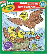Crayola: My First - Colour & Sticker Book (Just Hatched)