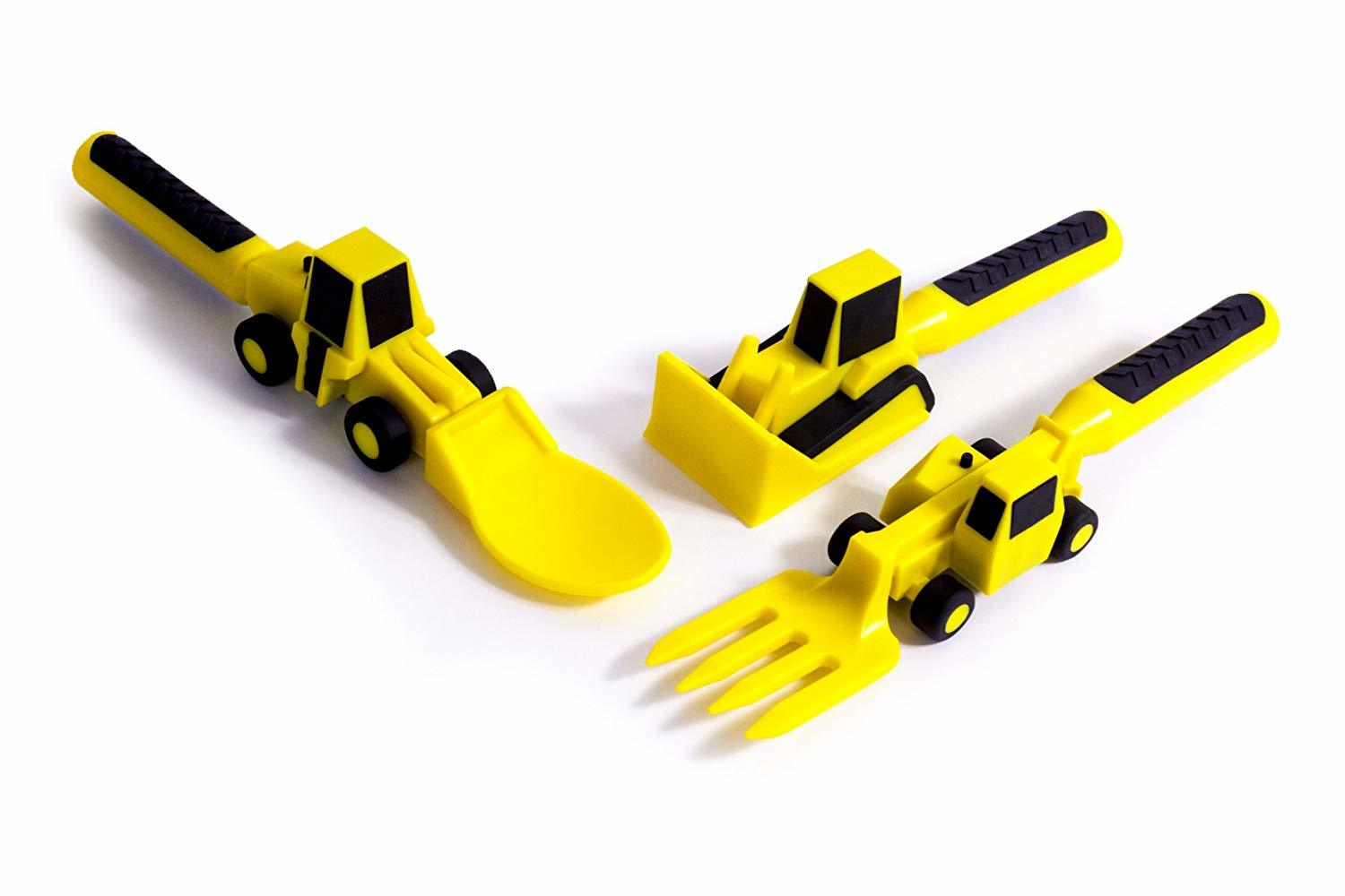 Constructive Eating - Construction Utensil Set image
