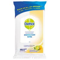 Dettol Pk90 Disinfectant Wipes Lemon Lime Twist