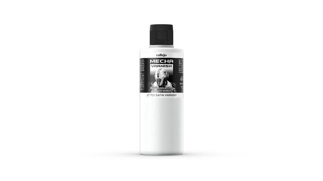 Vallejo: Mecha Colour Paint - Satin Varnish (200ml)