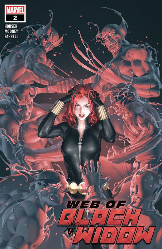 The Web Of Black Widow - #2 (Cover A) by Jody Houser