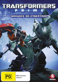 Transformers Prime - Season 2 Volume 5: Advance on Cybertron on DVD