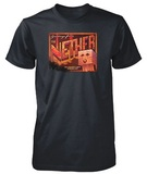 Minecraft Nether Postcard Youth T-Shirt (XS)