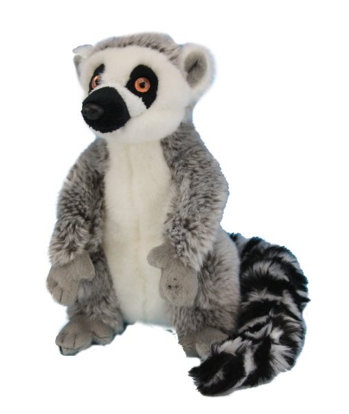 Ring Tailed Lemur Plush 20 Cm Toy At Mighty Ape Nz