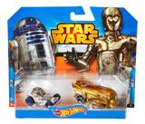 Star Wars Hot Wheels 1:64 Character Car - 2 Pack C.3.P.O