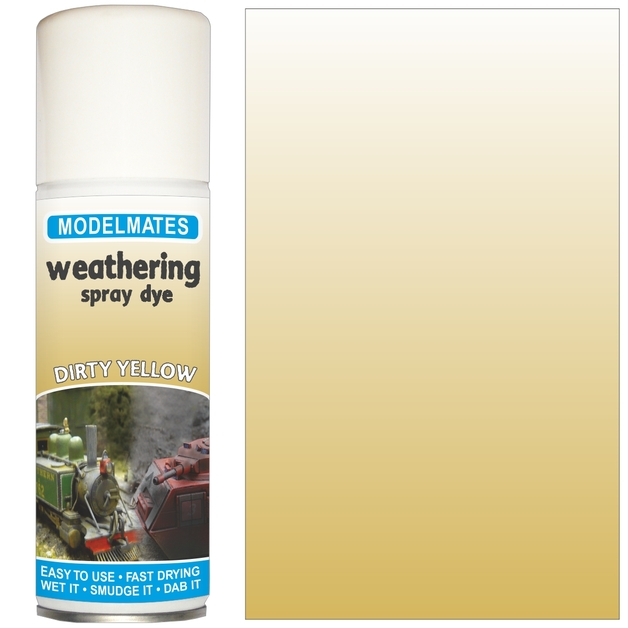 Modelmates: Weathering Spray Can - Dirty Yellow