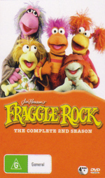 Fraggle Rock (Jim Henson's) - Complete Season 2 (4 Disc Box Set) on DVD