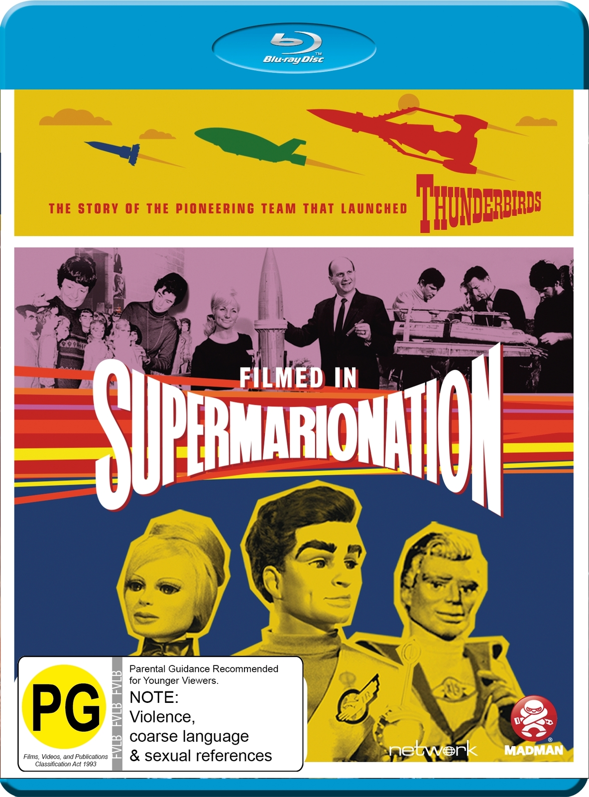 Filmed In Supermarionation on Blu-ray image