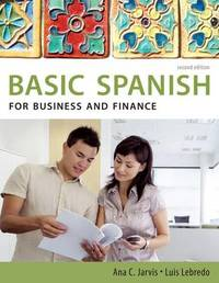 Spanish for Business and Finance by Ana C Jarvis image