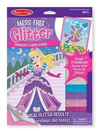Melissa & Doug: Mess Free Glitter - Princess and Fairy Scenes