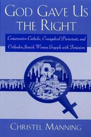 God Gave Us the Right by Christel Manning