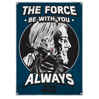 Star Wars: Metal Sign - The Force