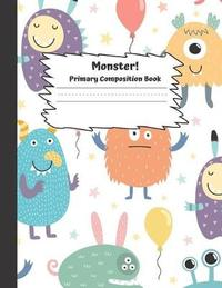 Monster Primary Composition Book by Charming Composition image