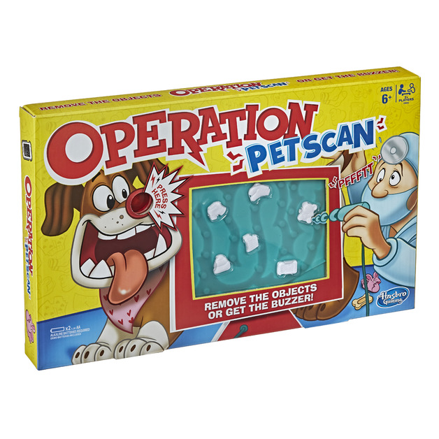 Operation: Pet Scan - Board Game