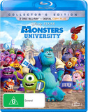Monsters University on Blu-ray, DC+