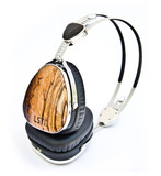LSTN Troubadours Headphones - Zebra Wood