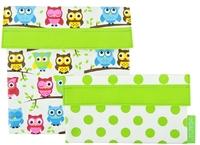 Sachi Reusable Lunch Pocket Set - Owl