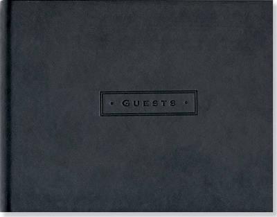 Artisan Classic Guest Book (Black)