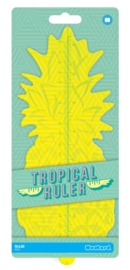 Mustard: Tropical Ruler - Pineapple Shaped Ruler