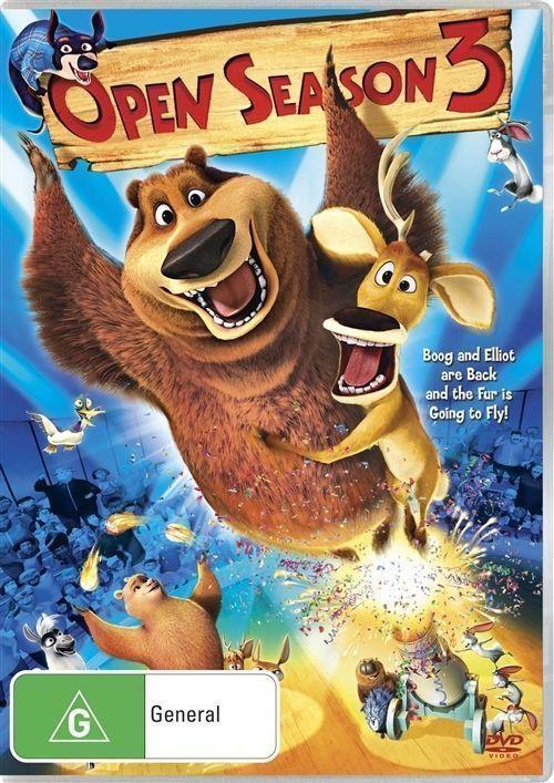 Open Season 3 on DVD