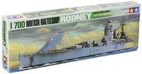 Tamiya 1/700 British Rodney Battleship - Model Kit image
