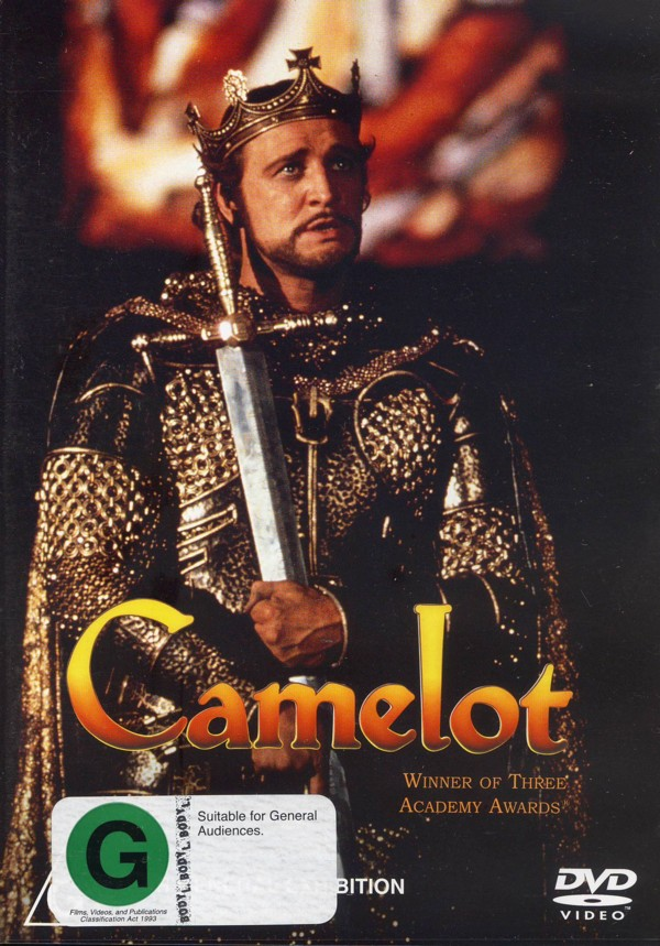 Camelot on DVD image