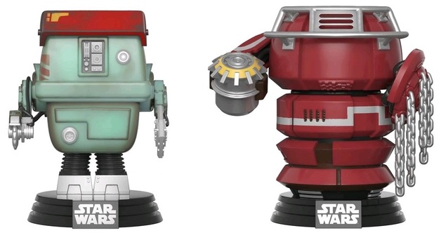 Star Wars: Solo - Fighting Droids Pop! Vinyl 2-Pack