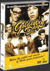 Golden Days - The British Invasion v The San Francisco Sound on DVD