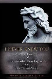 I Never Knew You by Michael Patrick Bowen