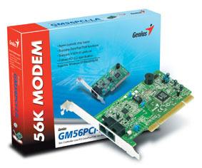 GENIUS PCI 56K GM56PCI-LA MODEM