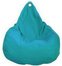 Beanz Big Bean Indoor/Outdoor Bean Bag Cover - Aqua image