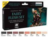 Vallejo Fantasy Pro: Fairy Flesh Paint Set