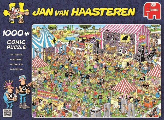 Holdson: Van Haasteren Pop Festival - 1000 Piece Puzzle