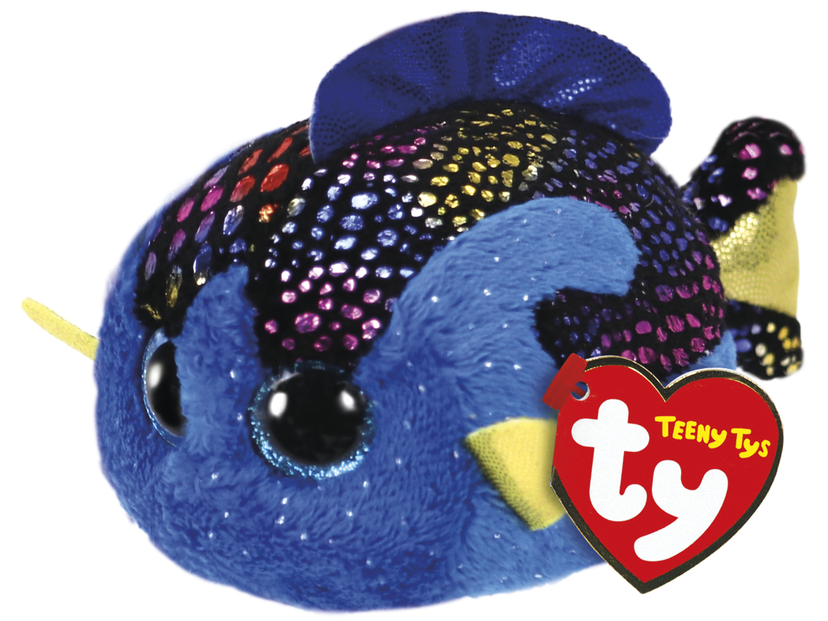 Ty: Teeny Madie Fish - Small Plush image