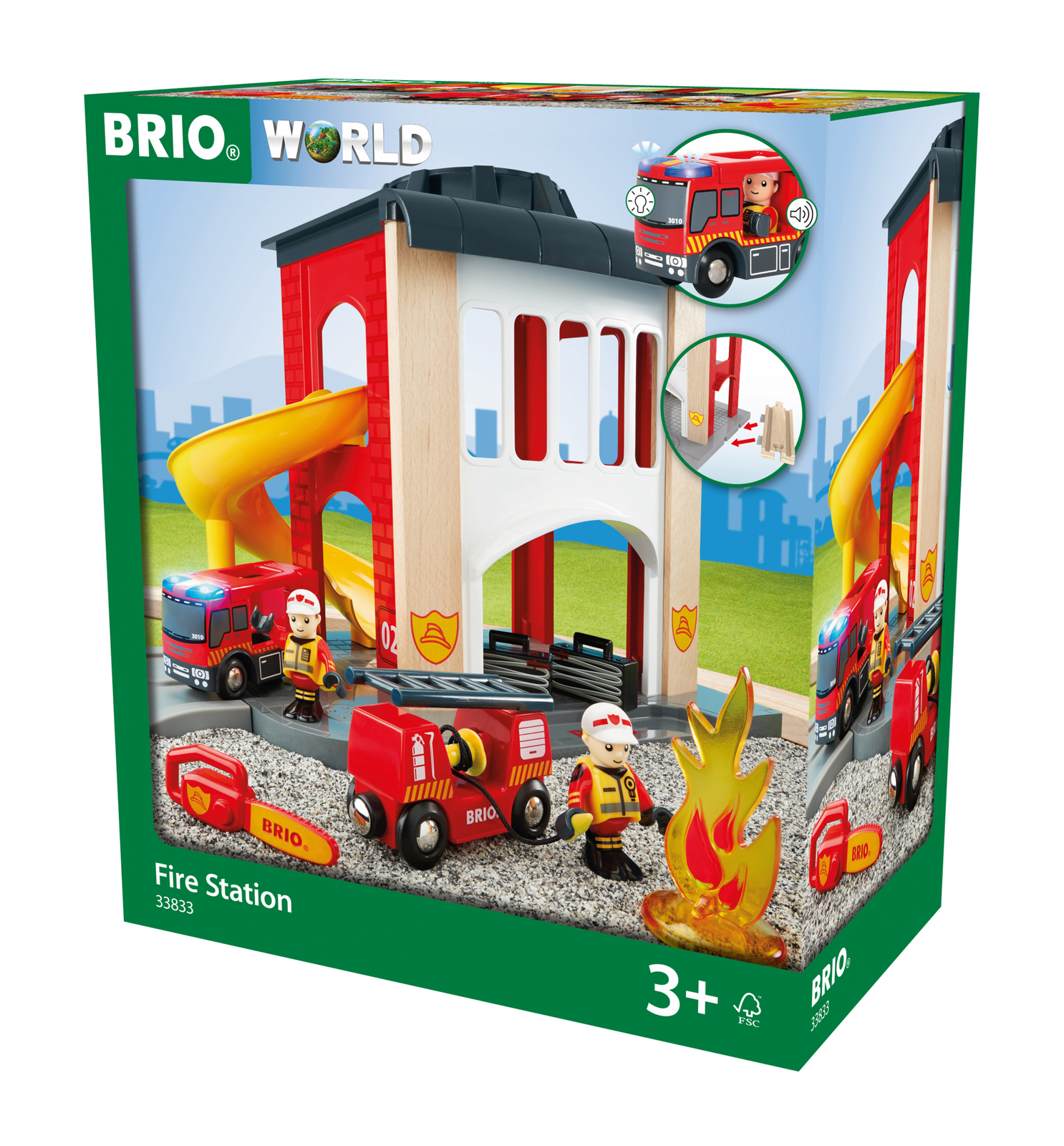 Brio: World - Fire Station image