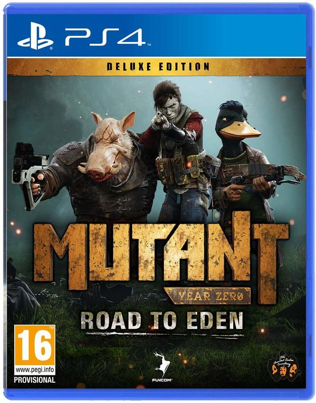 Mutant Year Zero: Road to Eden Deluxe Edition for PS4