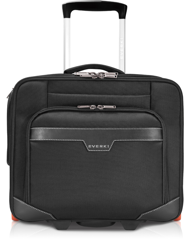 "11"" - 16"" EVERKI Journey Laptop Trolley Rolling Briefcase"