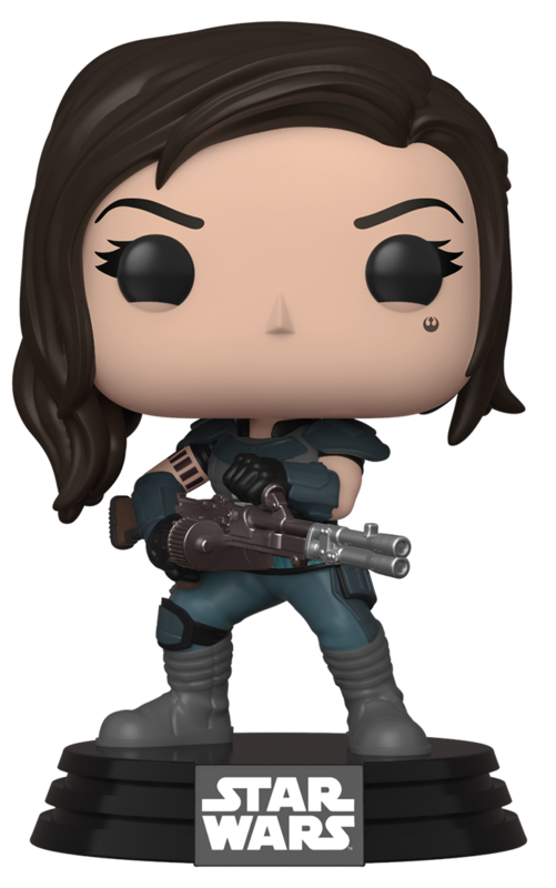 Star Wars: The Mandalorian - Cara Dune (with Gun) Pop! Vinyl Figure