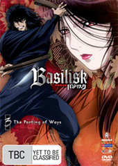 Basilisk - Vol. 3 on DVD