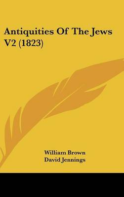 Antiquities of the Jews V2 (1823) by William Brown image