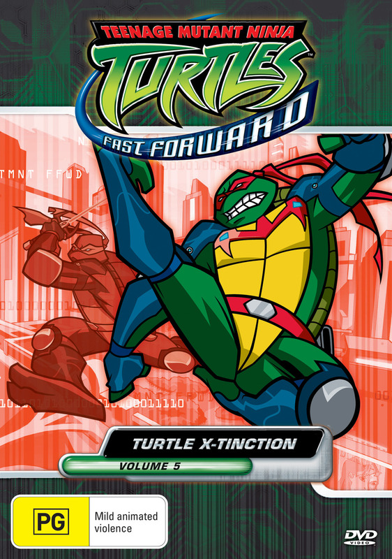 Teenage Mutant Ninja Turtles - Fast Forward: Vol. 5 - Turtle X-Tinction on DVD