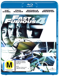 Fast And Furious 4 on Blu-ray