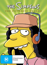 The Simpsons - The Fifteenth Season on DVD