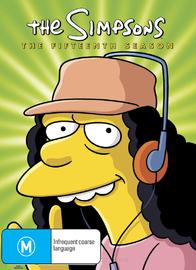 The Simpsons - The Fifteenth Season on DVD image