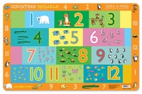 Crocodile Creek: Counting Animals Placemat