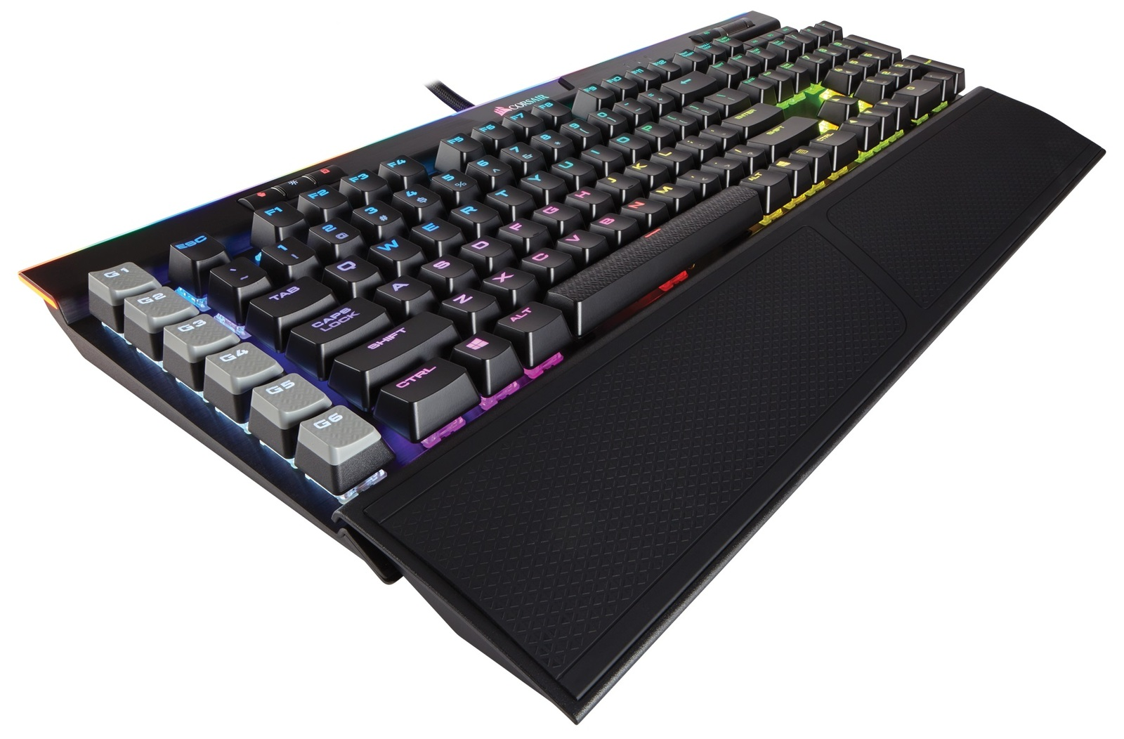 Corsair K95 RGB Platinum Gaming Keyboard (Cherry MX Speed) for PC Games image