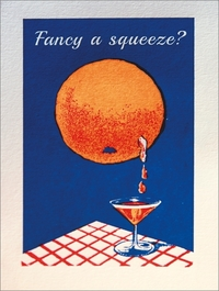 Archivist - Fancy A Squeeze Foil Greeting Card